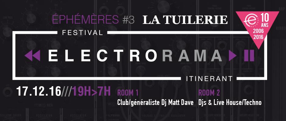 Festival ELECTRORAMA 10 years FER