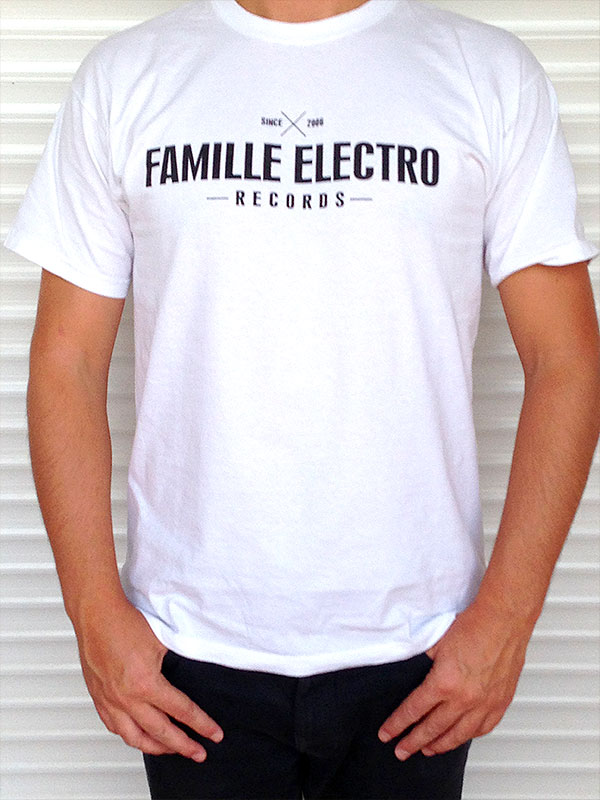 T-shirt homme L – Famille Electro records